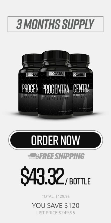 Three Month Supply Of Progentra Enhancement Supplements