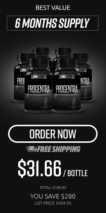 Six Month Supply Of Progentra Enhancement Supplements