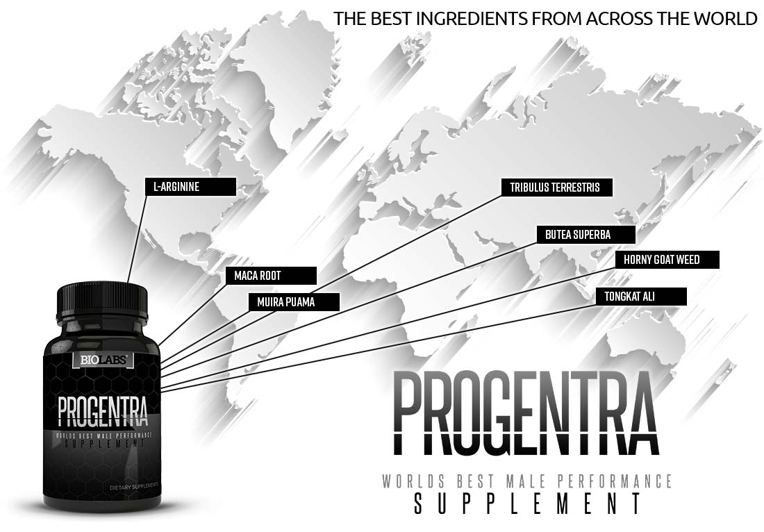 Progentra Pills: The Best Ingredients From Across The World Map